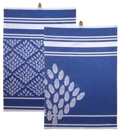 Kiem - Tea Towel theedoek - Hamam Aqua - set van 2