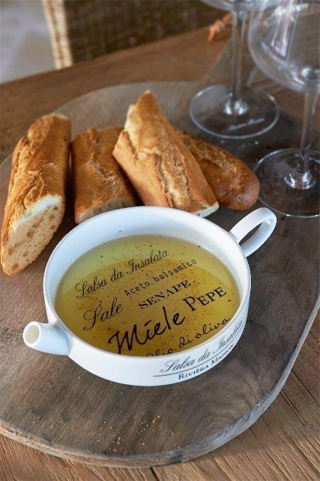 Riviera Maison Salsa da Insalata Olive Oil Saucer