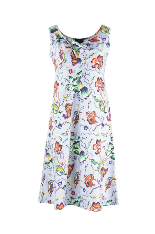 Zilch jurk Sleeveless hummingbird heaven