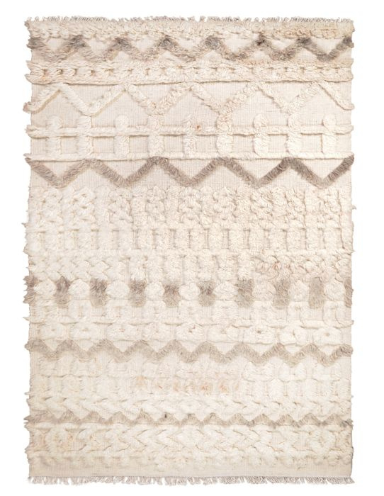 Vloerkleed Lusaka  - 190x290 - ivoor