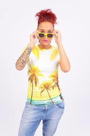 OMG palmtree t-shirt - Breaking Rocks
