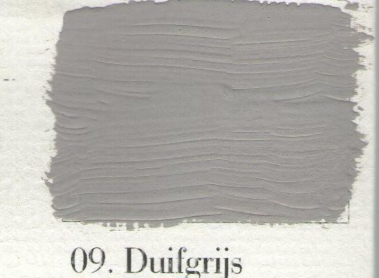 L'Authentique kalkverf - nr. 09 - Duifgrijs