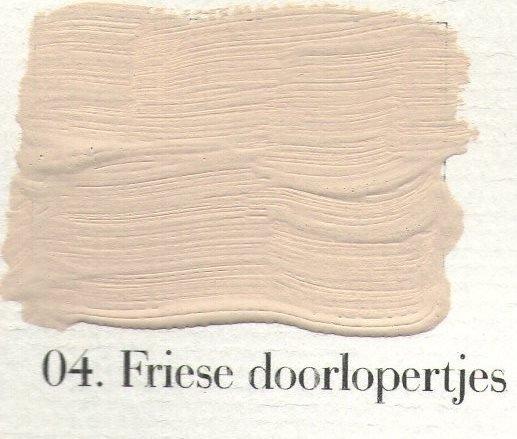 L'Authentique kalkverf - nr. 04 - Friese Doorlopertjes