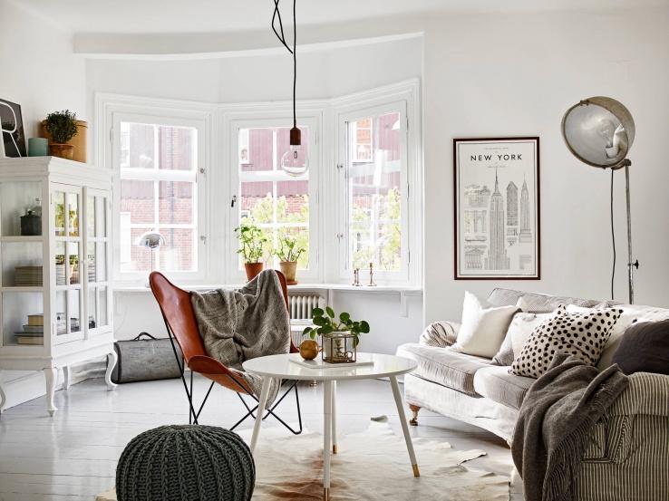 Zweeds Interieur Design.Een Eclectische Scandinavische Interieur
