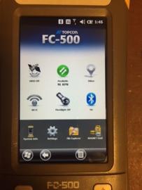 Topcon FC-500 met modem ( Verkocht )