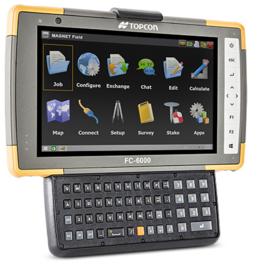 Topcon FC-6000 7 inch tablet