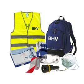 Rugtas BHV Blauw - met inhoud BHV