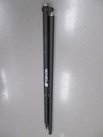 Topcon Carbon GPS  stok  2 meter with hole for ( GRS-1 )
