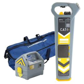 Radiodetection C.A.T4+ kabeldetector set met diepte indicatie