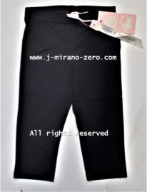 ZM3565-1 3/4 legging zwart (6pcs)