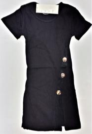 FRNS9010 jurk zwart (6pcs)