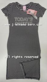 ZM5125 maxi-jurk zwart (6pcs)