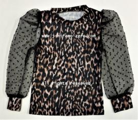 FRKU5319 blouse PANTER/CAMEL (6pcs)
