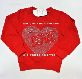 FRHS2055 sweater red (6pcs)sold