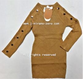 FRY3003 jurk CAMEL (6pcs)