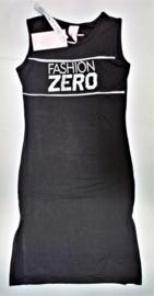 ZM3989 jurk zwart (6pcs)