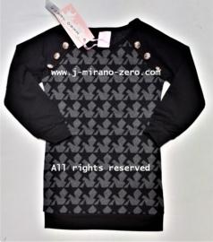 ZM5035 jurk zwart (7pcs)