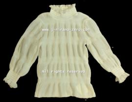 ZMCN055 blouse OFF-WHITE   (5pcs).