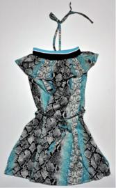 FRCH095 jurk  AQUA (7pcs)