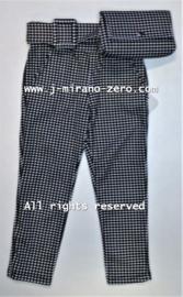 FRKU33482 broek zwart/wit  (6pcs)