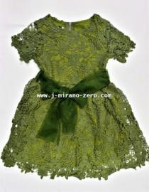 FRFL6828 jurk groen (6pcs)