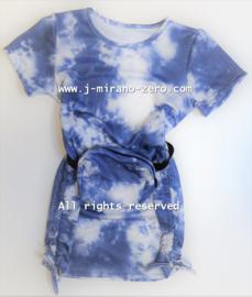 FRart3999 jurk BLAUW  (6pcs)