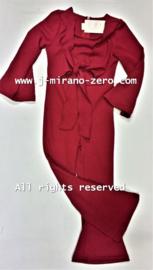 FRCH247 jumpsuit bordeaux (6pcs