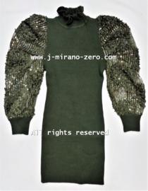 FRY8006 jurk armygreen  (6pcs)
