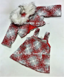 FRCH221`baby set rood(6pcs)