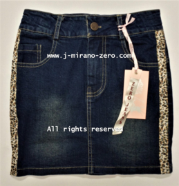 ZM5176 jeansrok panter (7pcs)