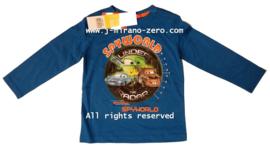 FRHM1059 shirt BLAUW  (4pcs)