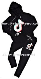 FRTT1347 joggingset BLACK (6pcs)