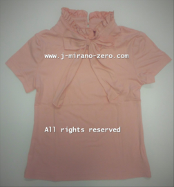 ZM5282-2 shirt  ROZE   (7pcs)