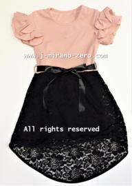 FRart2110 jurk  ROZE ( 6pcs) weer binnen