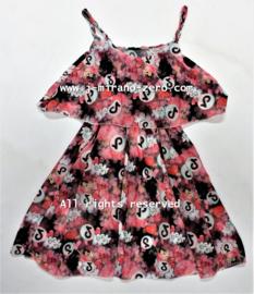 FRTT3271 jurk zwart (6pcs)