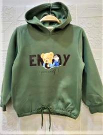 FRHS0192 sweater ARMYGREEN  (6pcs)