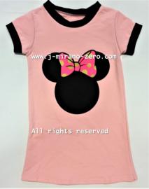 FRLEA029 jurk roze  (6pcs)
