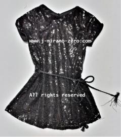FRFL7195 jurkje zwart(6pcs) nog enkele pakketten