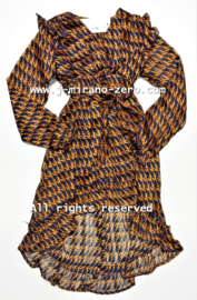 FRYY3020 jurk BRONS  (6pcs)