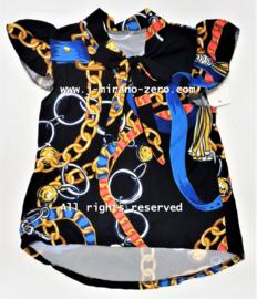 FRart9184 blouse zwart (6pcs) nog enkele pakketten
