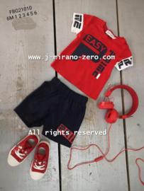 FRCH21010 sport set ROOD (7pcs)