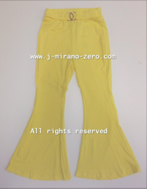 FRYY3004 Flared pants  GEEL   ( 6pcs)