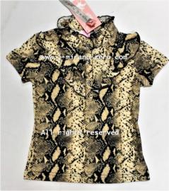ZM5237 Shirt polokraag Ivoor  (7pcs)