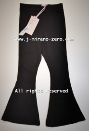 ZM5307 Flaredpants  zwart (7pcs)