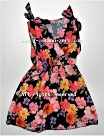 FRKU3926 jurk zwart (6pcs)