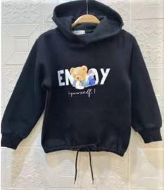 FRHS0192 sweater  ZWART   (6pcs)