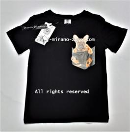 ZM5245 shirt BLACK (6pcs)