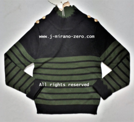 FRY3050 trui armygreen (6pcs)