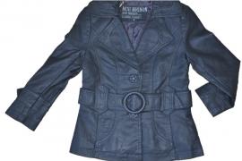 WZ-008 Mini Mignon grijze blazer met riem(8pcs)
