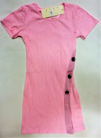 FRNS9010 jurk roze  (6pcs)
